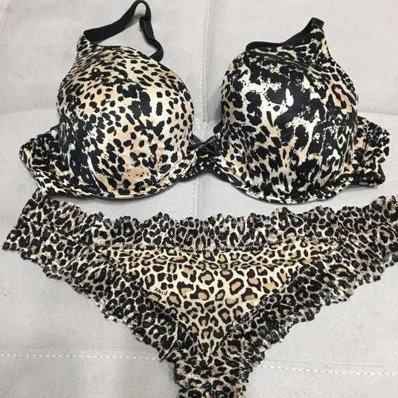 569f053903 madenform Other - Clearance 🎉Madenform animal print bra and panties